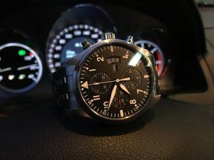 reloj de aviación