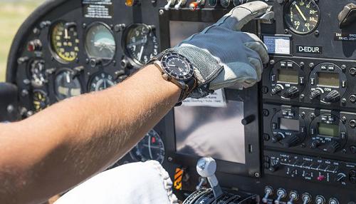 Reloj de piloto aviador
