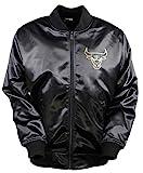 NEW ERA BNG Saen Chicago Bulls - Chaqueta de aviación para hombre, color negro Negro XXL