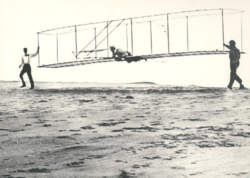 Historia de la aviación hermanos wright avión