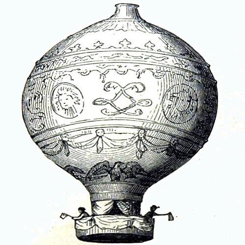 Historia_de_la_aviación_globo_Luftschiff_Montgolfier