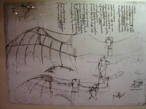 Historia de la aviación: Aparato volador leonardo da vinci
