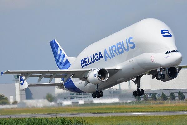 Tipos de aviones comerciales airbus Beluga