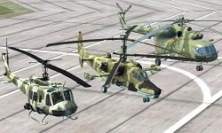 Simulador de vuelo de helicóptero